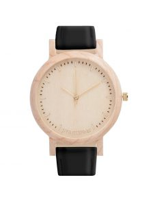 wooden watch lark slim
