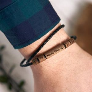 you wooden bracelet