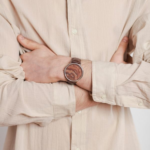 Watch Blend Muscato Silver Brown