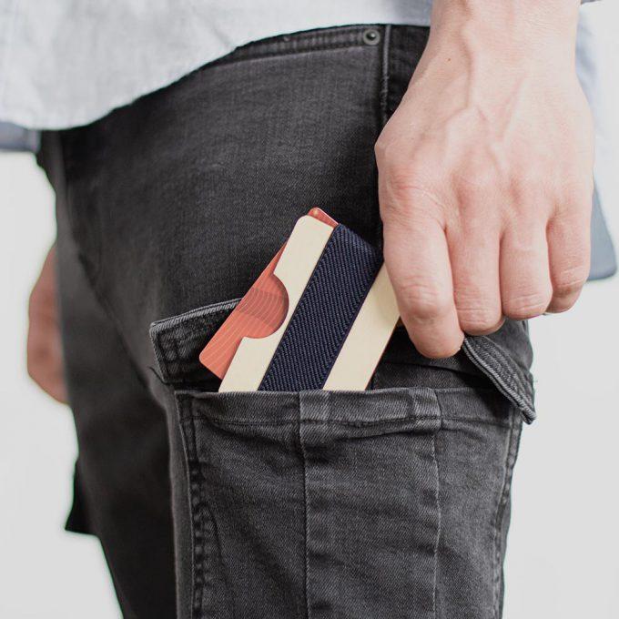 Wooden wallet Plantwear